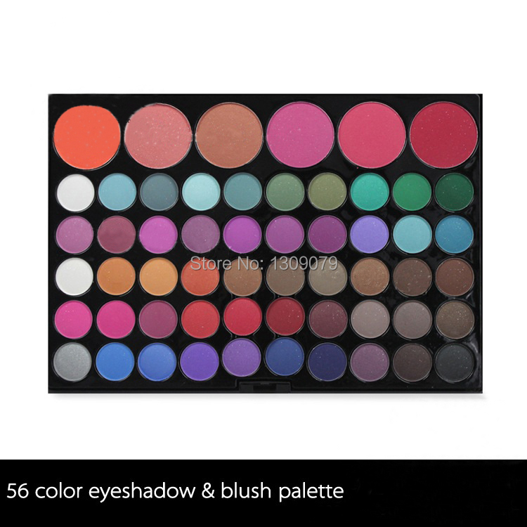 2014 HOT/High quality/Professional Brand/56 color Full Makeup Set/Girls Makeup Sets/Cosmetics For Girls/American Standard Brands(China (Mainland))