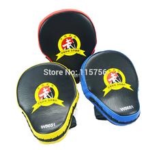 2pcs/lot  Muay Thai MMA Boxing Gloves Sandbag Punch Pads Hand Target Focus Training Circular Mitts for Kick Fighting PA38140153(China (Mainland))