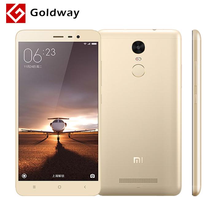"Original Xiaomi Redmi Note 3 Prime 32GB ROM Metal Body Fingerprint ID Mobile Phone Helio X10 Octa Core 5.5"" 1920X1080 3GB RAM(Hong Kong)"