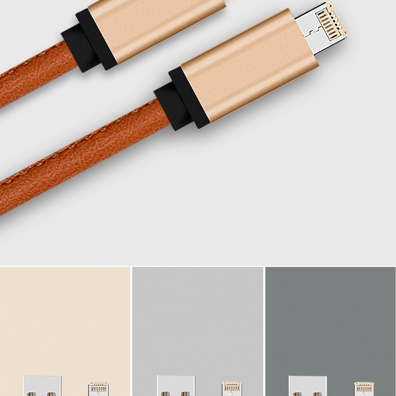 Micro USB Cable 2 In 1 Data Cable Flexible USB Multi Charger Data Cable for Android and Ios Cell Phone Charger 1006