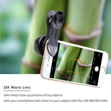 Buy 2017 new Universal Super Macro lens Clip-on Cell Phone Camera Lenses 18X Macro Lens iPhone Xiaomi Samsung smartphone Lens for $10.21 in AliExpress store