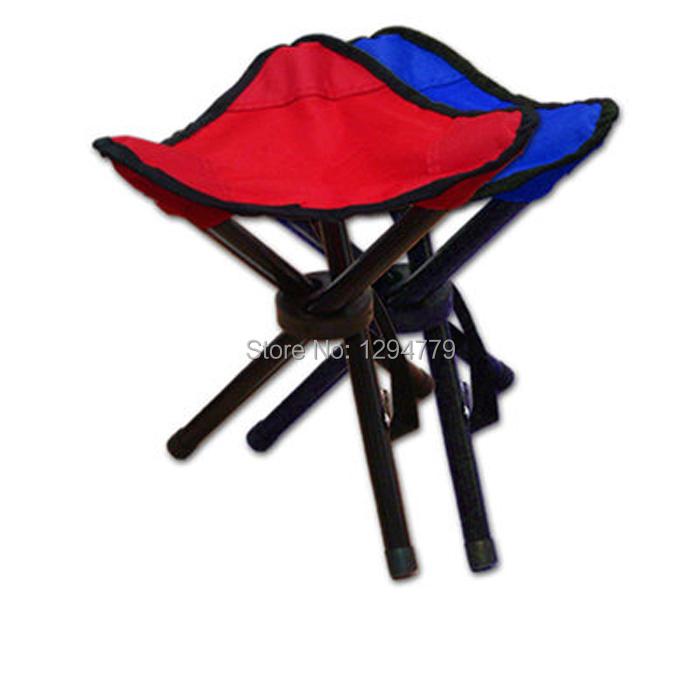 Portable tressiest three legged stool folding chair beach chair fishing stool outdoor park bench stool(China (Mainland))