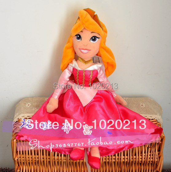 Sleeping Beauty Princess Aurora Plush Toys 27cm Stuffed Doll Cute And Soft For Girls(China (Mainland))