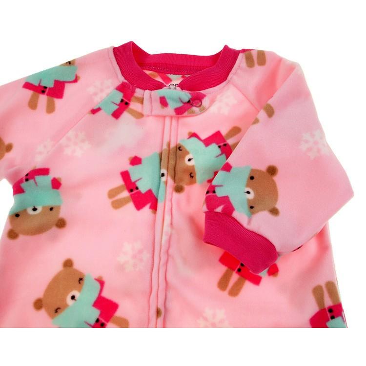 Newborn baby Sleeping Bag Polar Fleece infant Clothes style sleeping bags Long-sleeved Romper for 0-9M CX