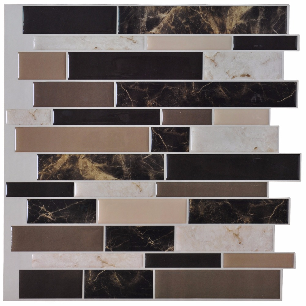 Brown Mosaic Tile Backsplash Cheap Crystal Glass Sheet Bathroom Tiles Kitchen Floor Wholesale