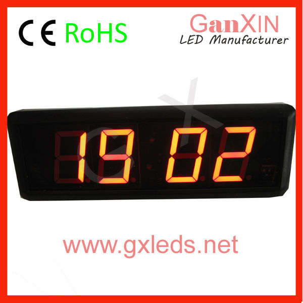GI4D-2.3R 2.3 inch 4 digits red indoor high quality led sign control board(China (Mainland))