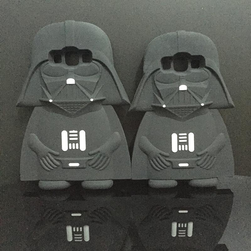 3D Soft Silicone Star Wars Darth Vader Back Cover Case Samsung Galaxy A5 E5 J5/A7 E7 J7 phone bag  -  International Fashion Goods Stores store