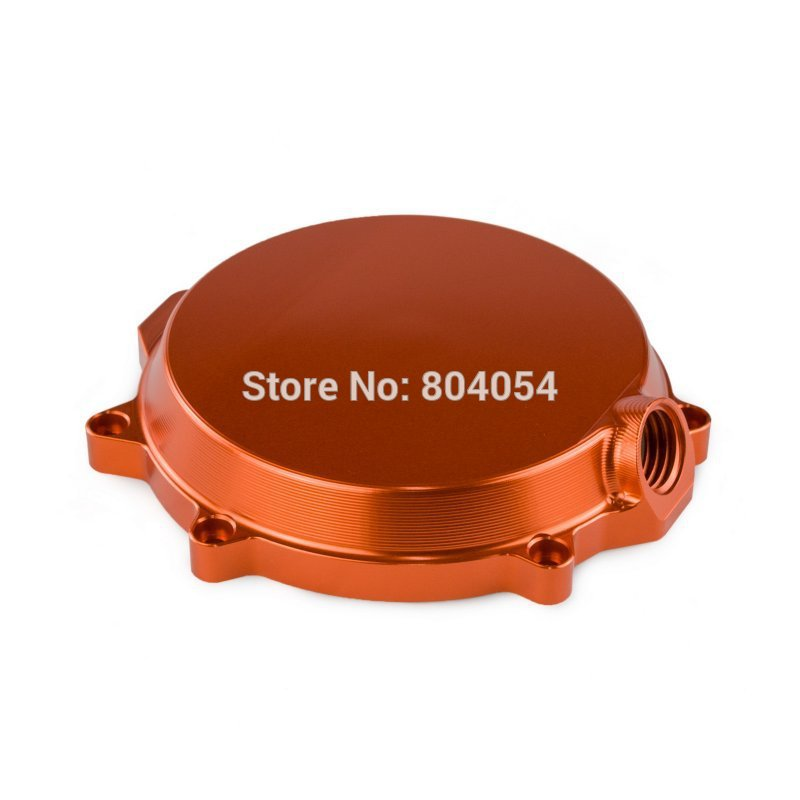 Billet Clutch Cover (Outside) Fits For KTM 250 SX-F 2005 2006 2007 2008 2009 2010 2011 2012 Orange
