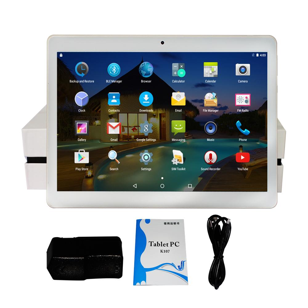 Yuntab 10.1'' K107 Phone Call Tablet 1GB+16GB Quad-Core Phablet with Dual Camera Unlocked Dual Sim Card Slots Bluetooth GPS(China (Mainland))