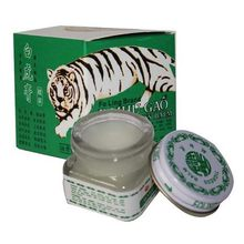 White Tiger Balm ointment for Headache Toothache Stomachache balm tiger Pain Relieving Balm Dizziness essential balm oil 20g