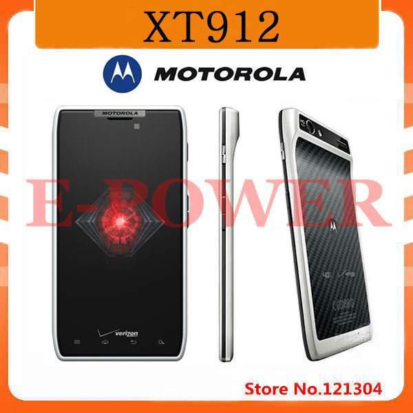 "Refubished XT912 Motorola DROID RAZR Original Unlocked XT912 / XT912 MAXX Mobile Phone Dual Core 4.3"" 8.0MP freeshipping(China (Mainland))"