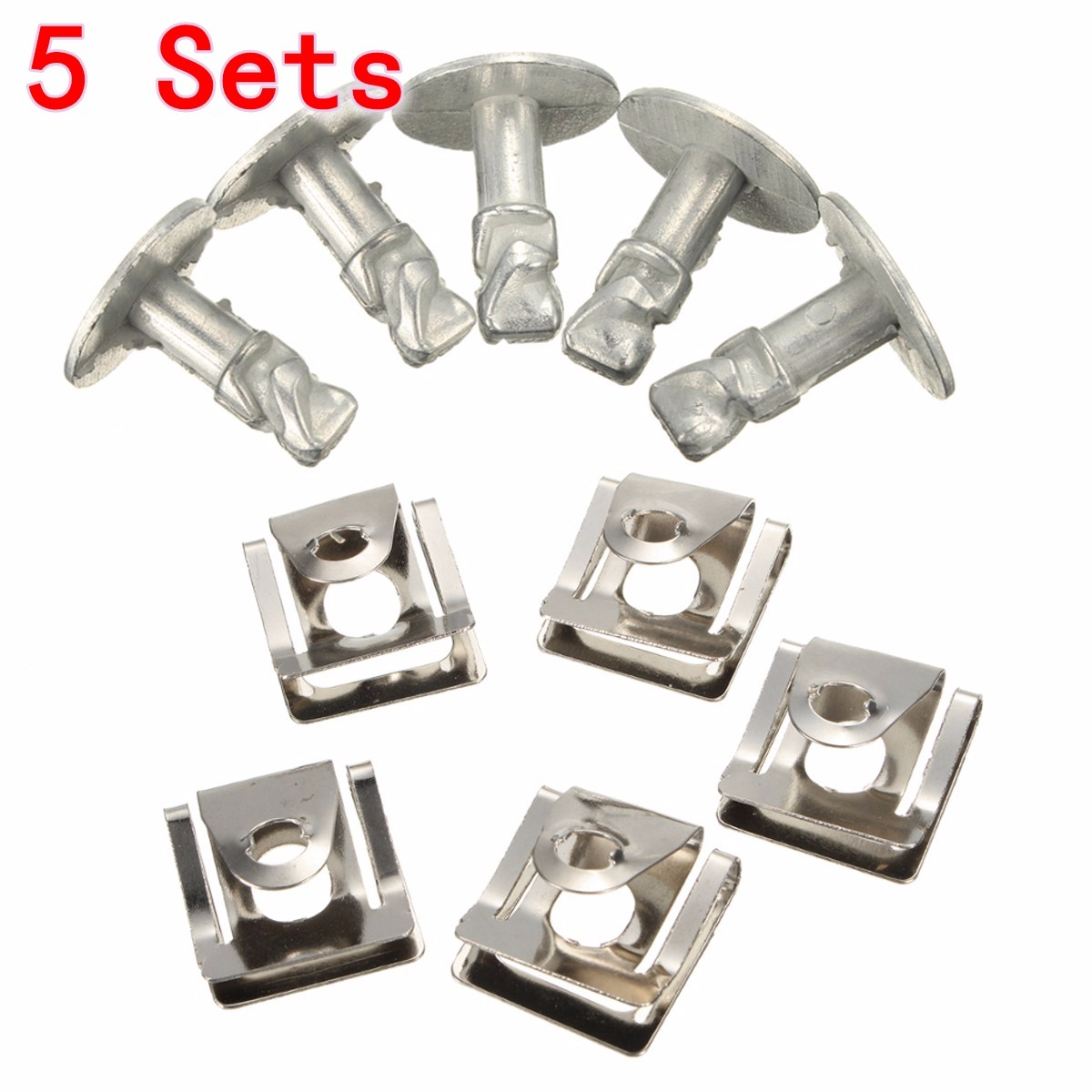 2016 New Under Engine Gearbox Cover Screws & Clips Set for Skoda Superb I /VW /Passat B5 /Audi A4 A6 Models(China (Mainland))