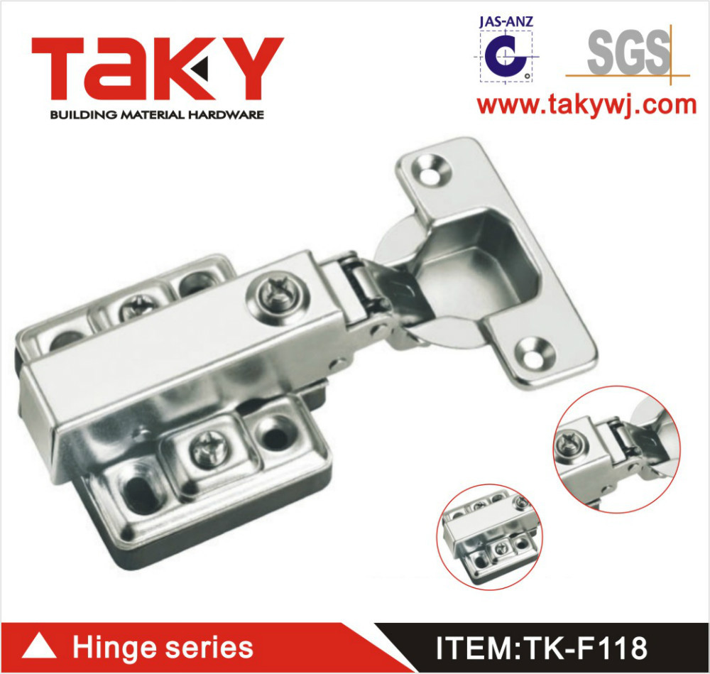 TK-F118 slide on concealed hydraulic hinge for furniture cabinet(China (Mainland))
