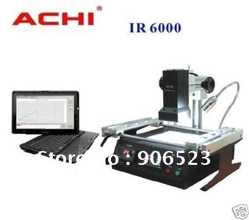 Free shipping lowest price Offical agent ACHI IR6000 BGA rework station dark infrared system repairing(China (Mainland))