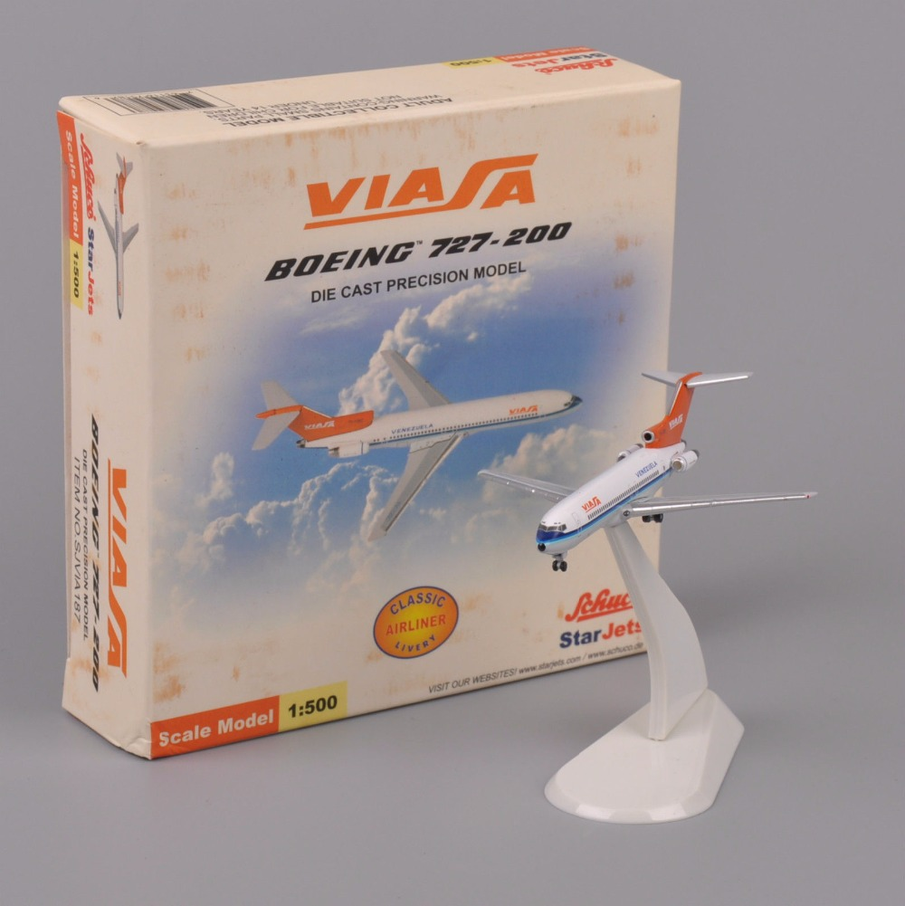 Collectible Star jets 1:500 Scale Model Boeing 727-200 Venezuela Diecast Airplane Toys Aircraft Collection Gift(China (Mainland))