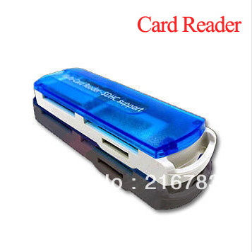 2013 New Arrival! 10Pcs/Lot Multi in One Memory Card Reader(China (Mainland))