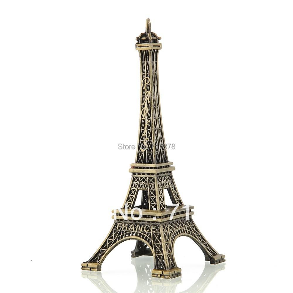 Гаджет  Bronze Tone Paris Eiffel Tower Figurine Imitation Statue Sculpture Souvenir 5 Size Free shipping None Дом и Сад