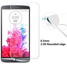 G3 0.26mm Explosion-proof Tempered Glass  For LG G3 D855  With Retail Box Screen Anti Shatter Protector Film(China (Mainland))