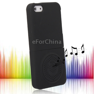 New Arrival Beautiful and Stylish  Detachable Mobile Phone Case Cover with Speaker for iPhone 5 Free Shipping with Tracking Code(China (Mainland))