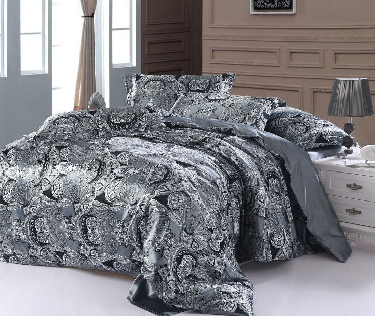 paisley bettw schesatz super king size k nigin doppel. Black Bedroom Furniture Sets. Home Design Ideas