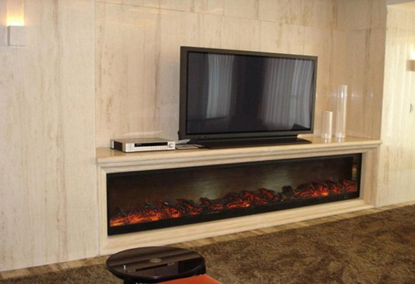 Cheap Tv Stand Fireplace With Artificial Fire Flame In Electric Fireplaces From Home Improvement