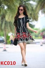 New 2015 summer dress short sleeve vestidos o-neck casual bohemian dresses print long women tunic tops plus size roupa femininas(China (Mainland))