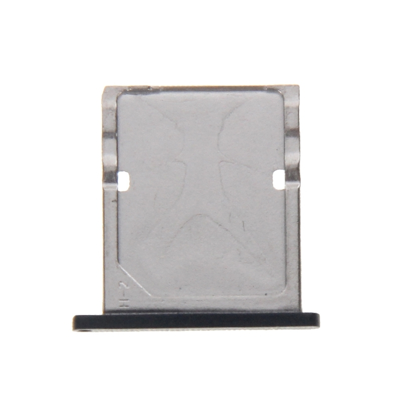 iPartsBuy Card Tray Replacement for Xiaomi Mi 4 Smart Phone SIM Card Holder Replacement Parts Black Color