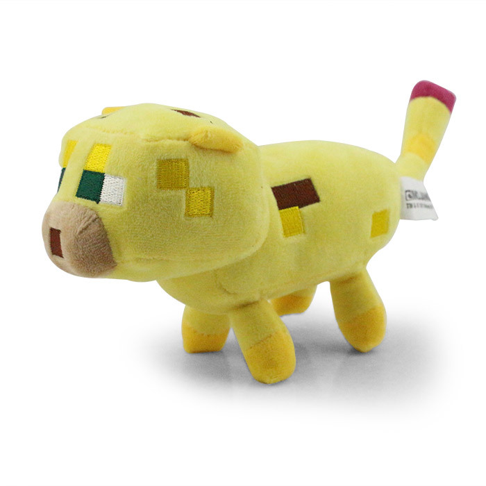 15CM Minecraft Plush ocelot plush Toys enderman Creeper Plush<br><br>Aliexpress