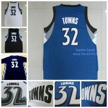 Minnesota #32 Karl Anthony Towns Jersey, Draft15 #1 Pick Karl Anthony Towns White Blue Black Cheap Basketball Jersey, S-XXL(China (Mainland))