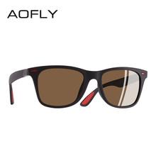 Aofly novo design ultraleve tr90 polarizado óculos de sol das mulheres dos homens condução estilo quadrado óculos de sol masculino óculos de sol uv400 gafas de sol(China)