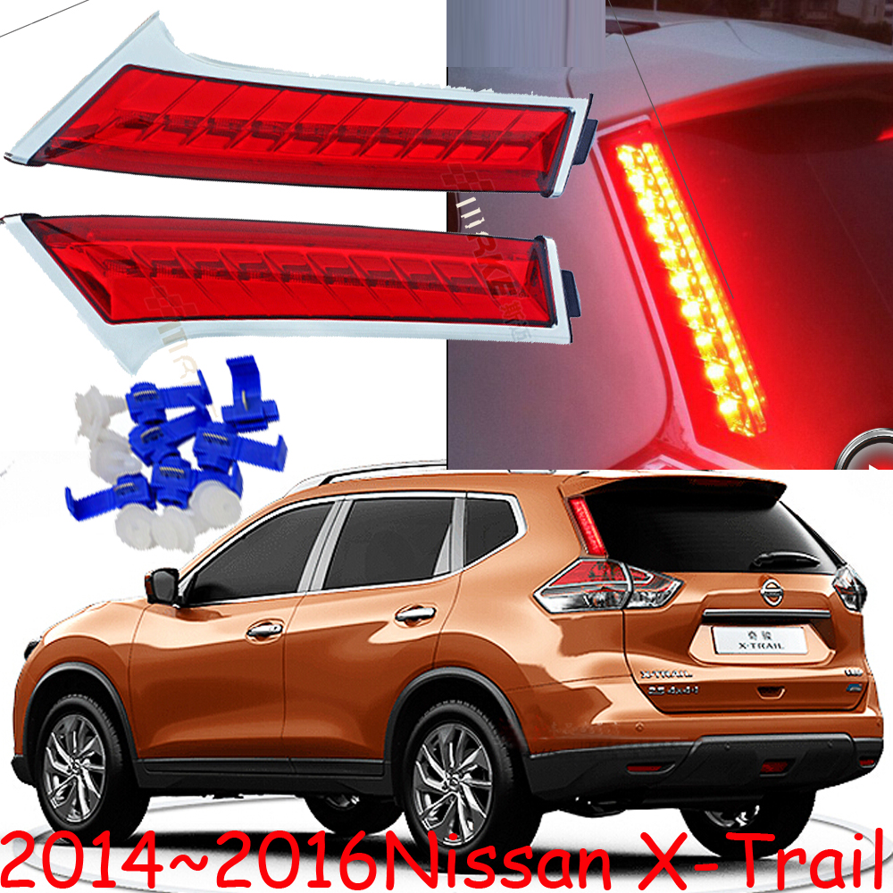 2014~2016 X-Trail SUV LED taillight+Free shipping,35W 12V,2pcs/set(1pcs Left+1pcs Right),Red color,excellent item!<br><br>Aliexpress