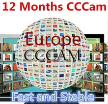 Europe cccam Cline server for Enigma2 Sat Receiver  SPAIN UK DE Italy Poland Sweden one Year cccam cline with free rca cable(China (Mainland))