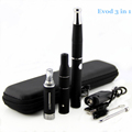 Electronic cigarette Evod 3 in 1 e cigarette Vaporizer Dry herb Wax Liquid Cigarette Kit Evod