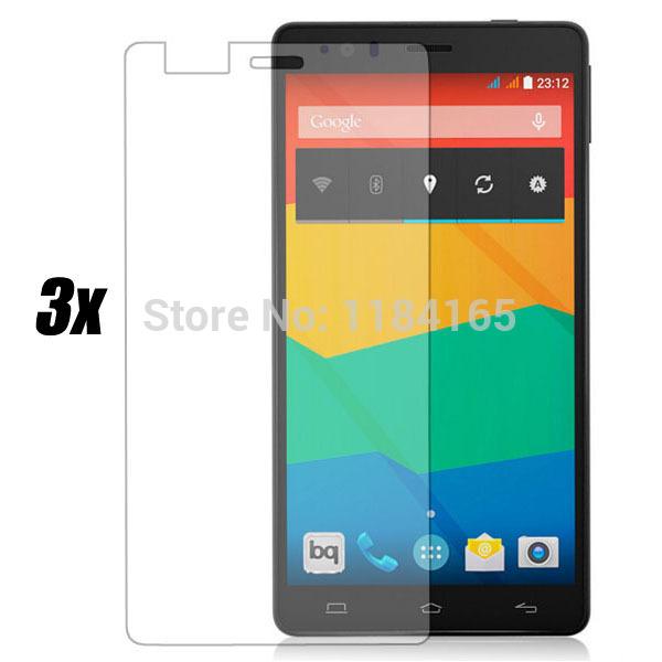 Защитная пленка для мобильных телефонов 3pcs/aquaris E6 защитная пленка для мобильных телефонов 3pcs nokia lumia 730 735