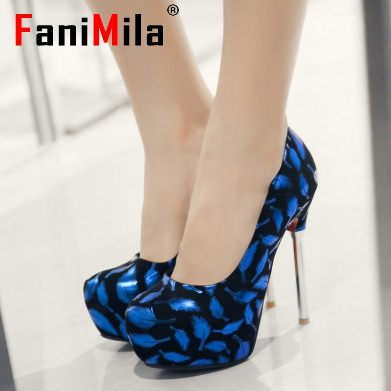 women high heel shoes platform sexy spring female vintage quality office footwear fashion heeled  pumps shoes size 33-42 P22425<br><br>Aliexpress