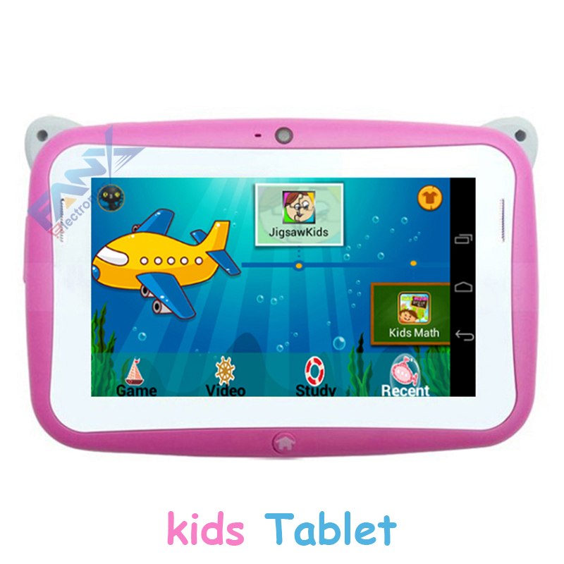 Bulk Wholesale cheapest 4.3 inch Kids Education Tablet PC R430C Dual Cameras RK2926 Android 4.2 easy handle by kids small hands(China (Mainland))
