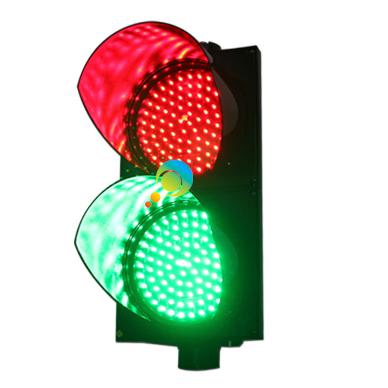 Factory direct price 200mm PC red green signal flashing light led traffic light(China (Mainland))