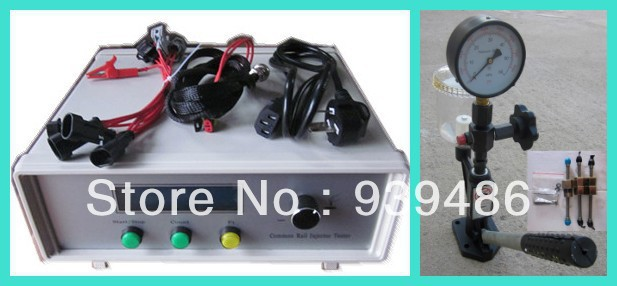 CR1000A common rail injector tester and S60h diesel nozzle tester(China (Mainland))