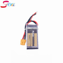 Buy 1pcs Xpower LiPo Battery 11.1V 1500Mah 3S 40C XT60/T Plug RC Car Airplane WLtoys V950 Helicopter Part for $11.47 in AliExpress store