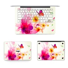 Hot Sale Laptop Sticker for Macbook Air Skins Front Bottom Keyboard Painting Full Vinyl Decal Retina Pro 13 Notebook Sticker