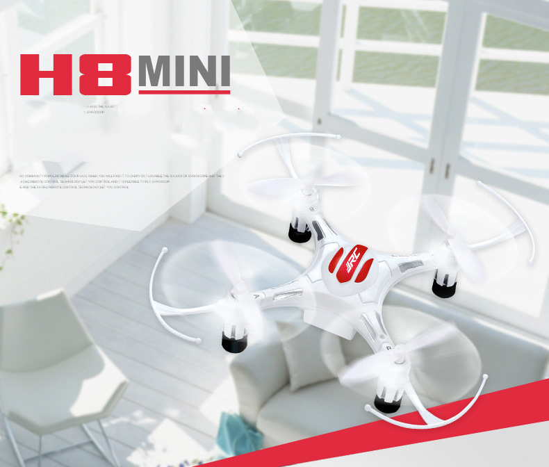 New JJRC H8 Mini Drone Headless Mode 6 Axis Gyro 2.4GHz 4CH RC Quadcopter With 360 Degree Rollover RTF Remote Control Toy(China (Mainland))
