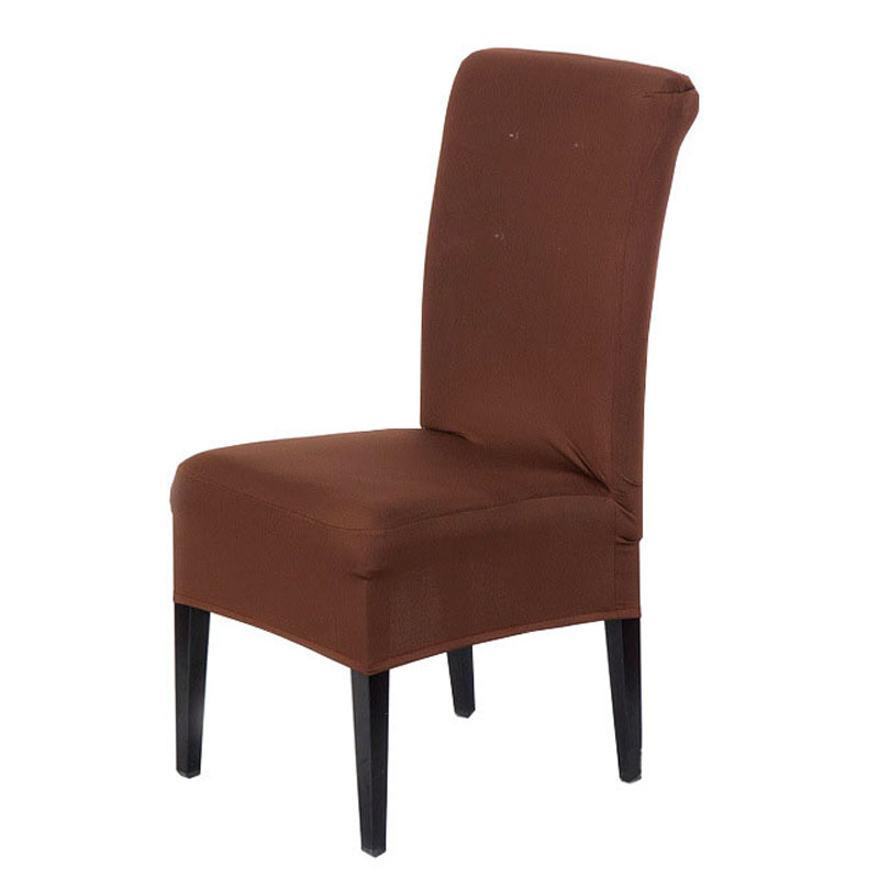 Online buy wholesale colored chair covers from china for Housse chaise lycra
