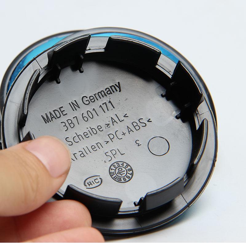 4 x OEM Quality Car Wheel Center Caps Cover For VW Emblem Logo Badge 65mm 3B7601171(China (Mainland))