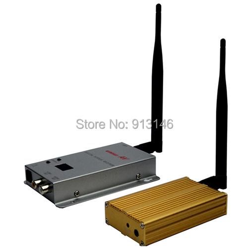 1.2GHz 1200mW wireless av transmitter receiver warranty 1 year 15 Channels - Hunting Camera store