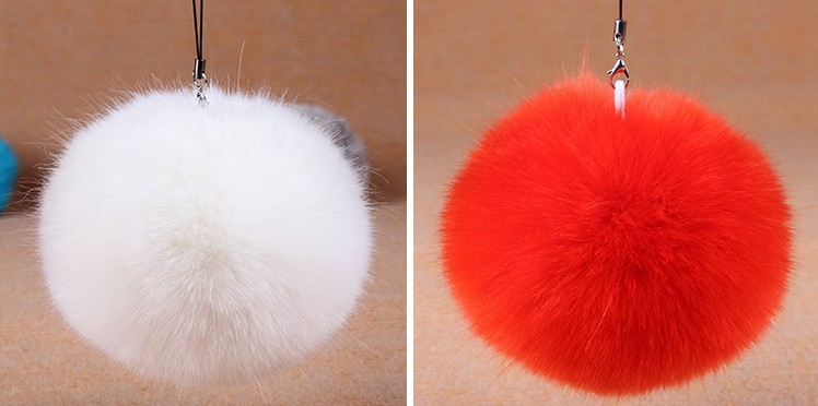 Cute! Good quality 10pcs DIY fake fur balls D10 for beanies hatskeybagsknited capiphone faux fur pompoms free shipping (6)
