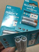6 шт./лот оригинальный новое NI MH AAA 3A аккумуляторы 1.2 В 4300 мАч н . и . MH для Sony аккумулятор
