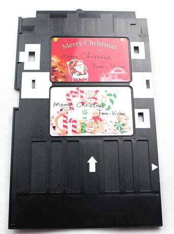 Plastic PVC ID card Inkjet printer High Quatily tray For Epson R270 R280 R285 R290 Free shipping(China (Mainland))