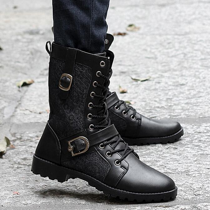 Online Get Cheap Men White Combat Boots -Aliexpress.com | Alibaba ...