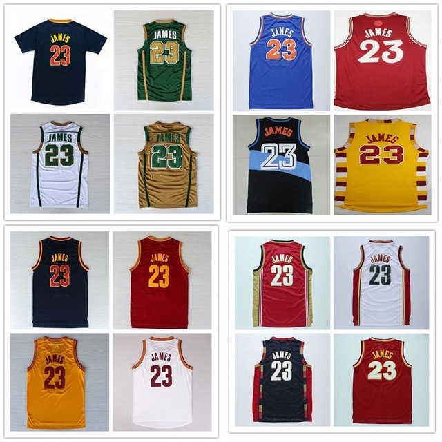 23 Lebron James Christmas Basketball Jersey Stitched Lebron James College Basketball Jerseys Throwback Lebron James Jersey(China (Mainland))