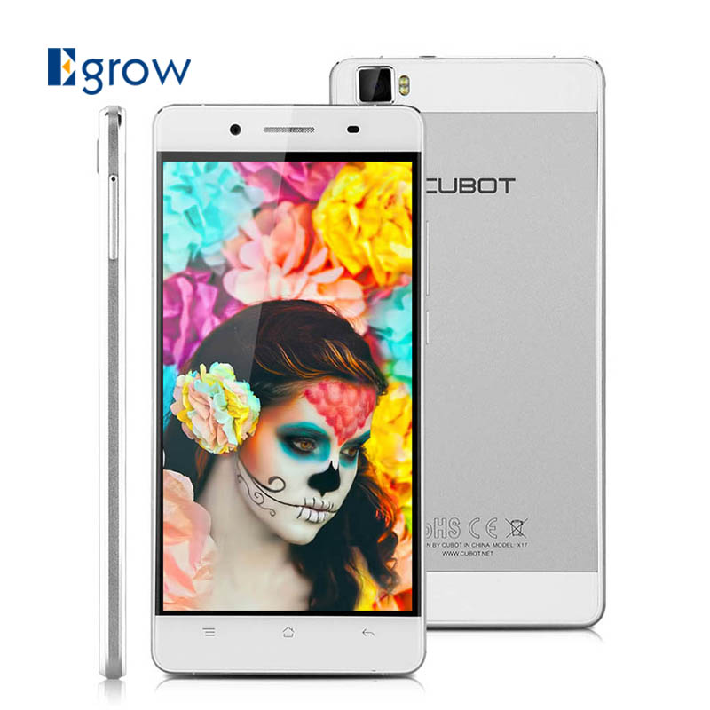 Original CUBOT X17 5.0 inch Android 5.1 Smartphone MTK6735 1.3GHZ Quad Core Cellphone Unlocked 3G WCDMA 4G LTE Mobile Phone(China (Mainland))